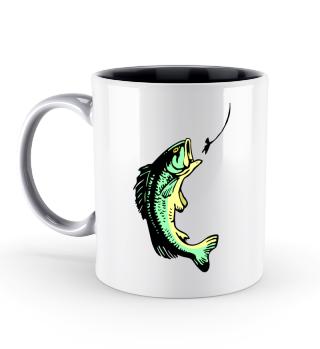 Fisch Angeln Tassen