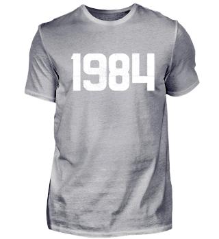 Jahreszahl 1984