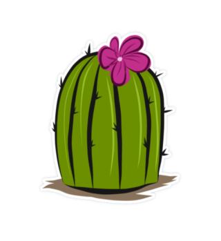 Aufkleber Sticker Kaktus