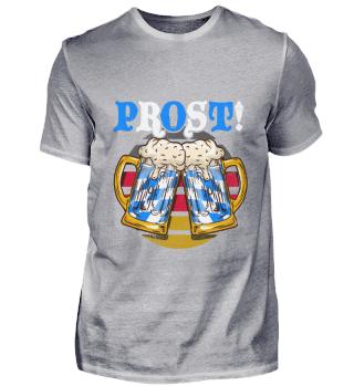 Oktoberfest Prost Shirt Beer Bavarian