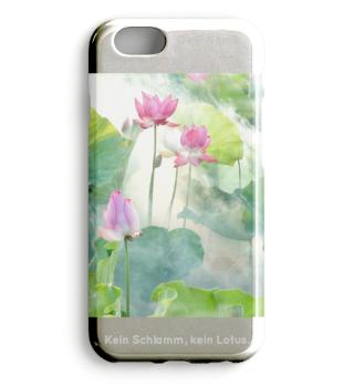 Lotusblume Smartphone Hülle personalisierbar