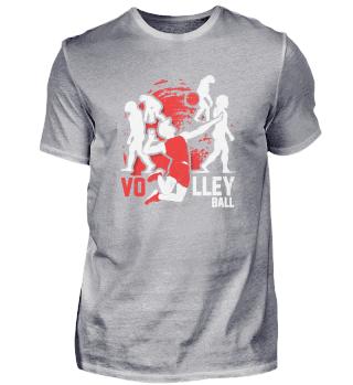 Volleyball Evolution Volleyballer Volley