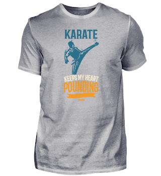 Karate Keeps My Heart Pounding