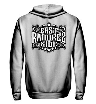 Herren Zip Hoodie Sweatshirt East Side Ramirez