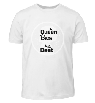 Queen Bees Kinder T-Shirt schwarz