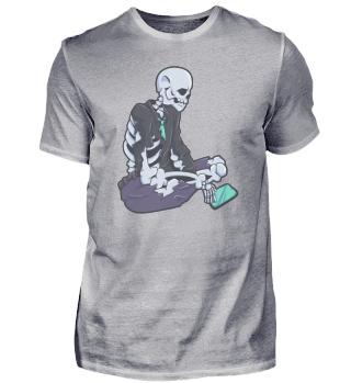 Skelett Smartphone Handy tot Geschenk
