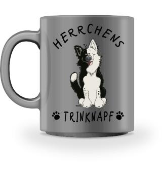 Herrchens Trinknapf Border Collie Tasse