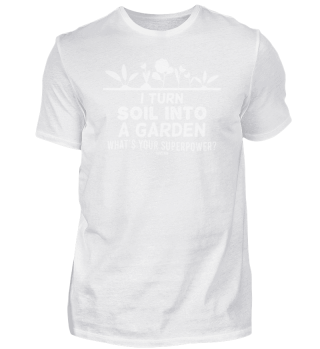 Teacher superpower gardening cultivation