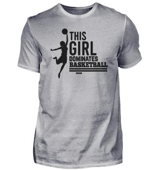 Girls athletic Basketball B-Ball