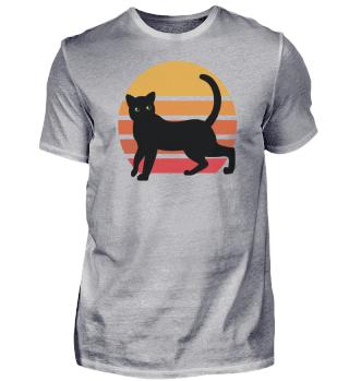Cat Retro Animal Pet Gift Animal Lover