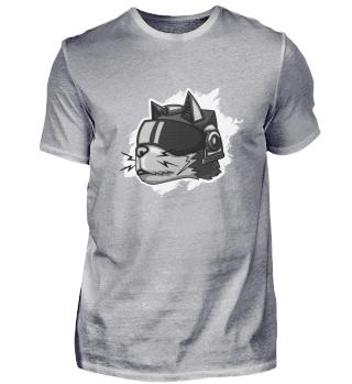 Cyborg Katze Steampunk