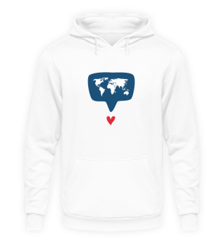 World with Heart Unisex
