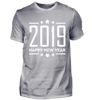 Frohes Neujahr 2019 Silvester Feuerwerk