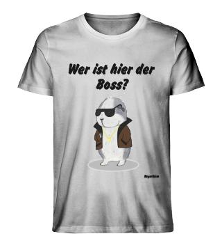 M.G. Olaf Bio T-Shirt - Wer ist hier der Boss