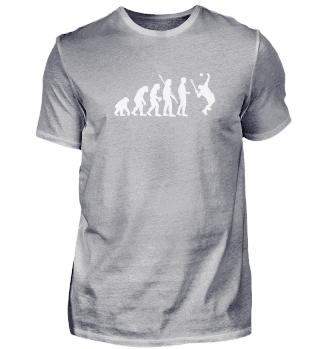 Geschenk Tennis: Evolution Tennisspieler