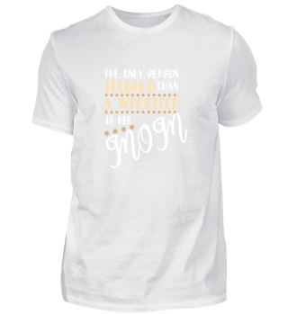 Funny Tough Wrestler Mom gift