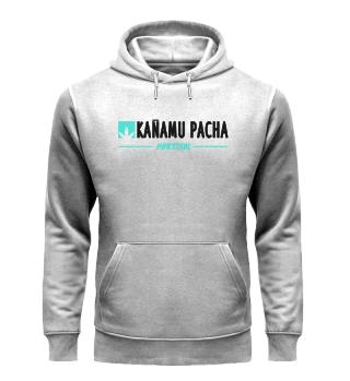 KANAMU PACHA ORGANIC HOODIE GREY