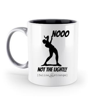 NOT THE LIGHT white