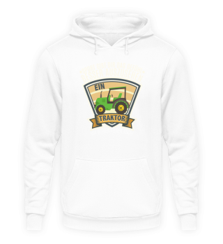 Landwirt · Traktor · Gelbe Felgen