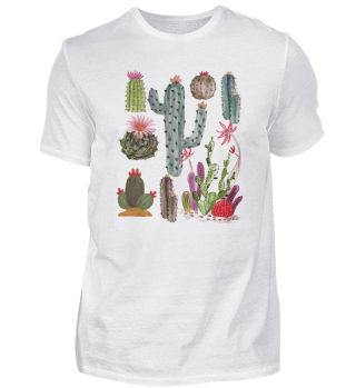 Novelty Retro Cactoid Opuntias Horticulture Herbal Lover Hilarious Herbaceous Uninhabited Plants Enthusiast