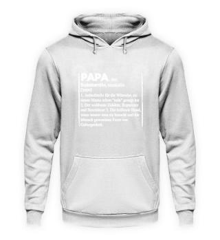 Papa · Papa, der Substantiv