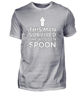 Wooden Spoon Survivor Italian Gift