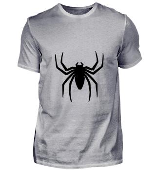 Spinne, schwarz