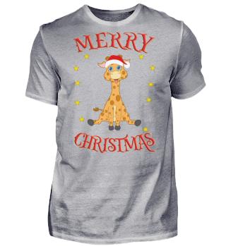 Merry Christmas Santa Baby-Giraffe