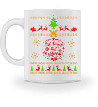 UGLY CHRISTMAS DESIGN - STRICKMUSTER #7.12