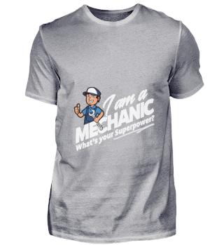 D001-0162A Proud Mechanic Handwerker - W
