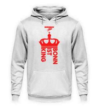 unisex hoodie bonn ist king