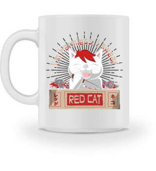 Red Cat Harmless Tasse