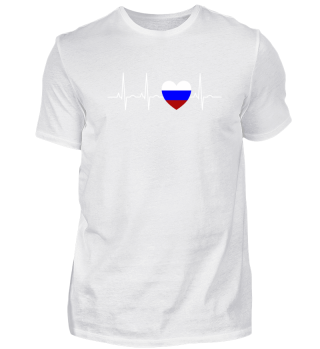 RUSSIAN LOVE HEARTBEAT - Funny Cool Gift