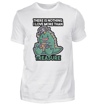 Pirate Dino T-Rex treasure chest Gift