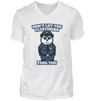 Panda Bear police security Gift