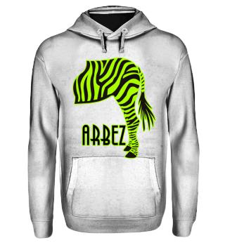 ARBEZ Zebra von Hinten - green