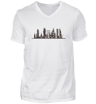 MOSCOW CITY SKYLINE - Funny Russian Gift