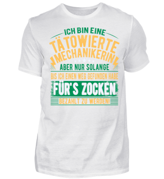 TATOWIERTE GEFUNDEN HABE ZOCKEN T-SHIRT