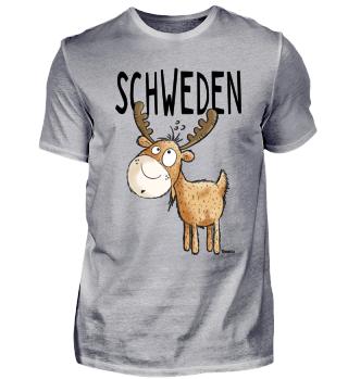 Schweden Elch I Skandinavien Geschenk