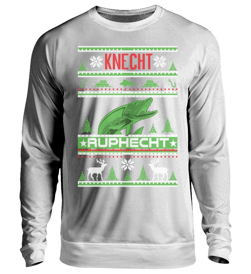 Fischer Ugly Christmas Knecht Ruphecht   Unisex Sweatshirt - Shirtee ... ea228f68d3