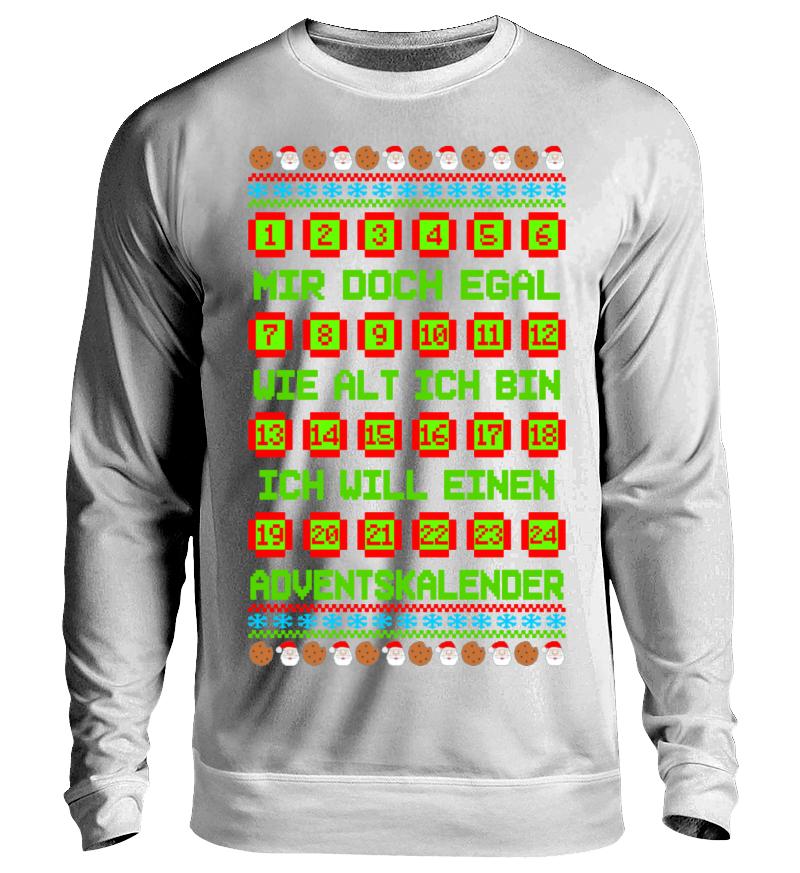 Adventskalender Ugly Christmas | Unisex Sweatshirt - Shirtee.de / T ...