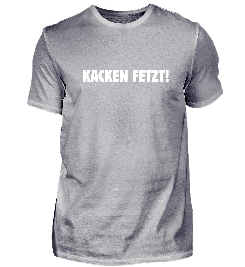 Girlie Shirt Kacken fetzt