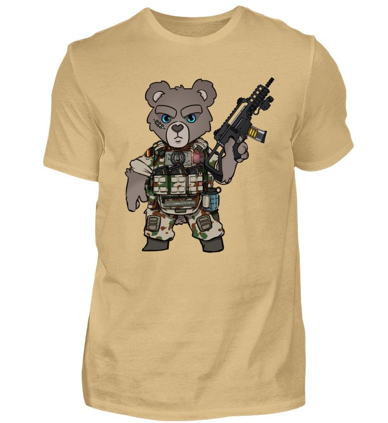 b2c688ed25 TACTICAL TEDDY KSK BUNDESWEHR | Herren Basic T-Shirt - Shirtee.de / T-Shirt  Druck und T-Shirts bedrucken bei Shirtee, schnelle Lieferung.